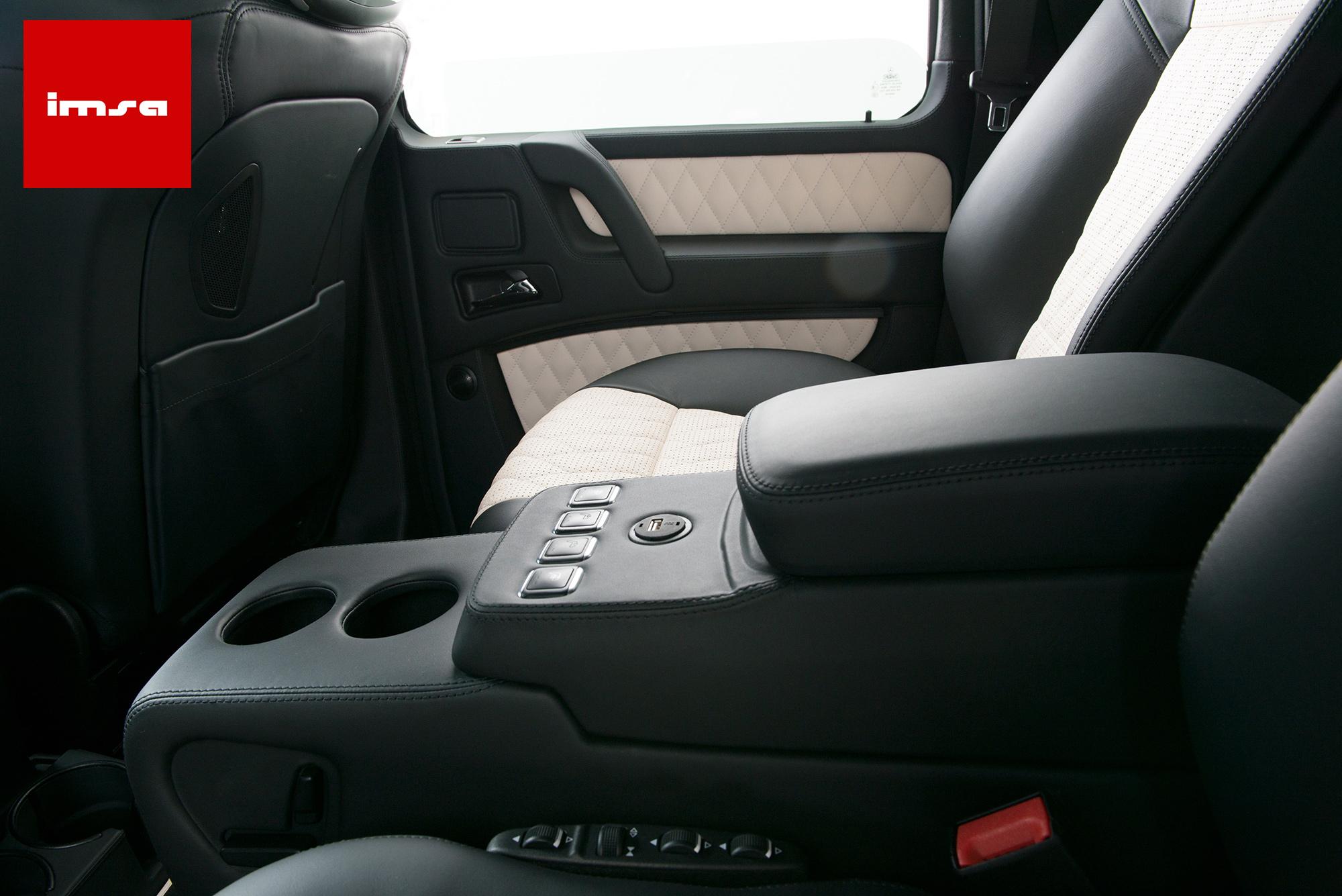 IMSA G-Class interior